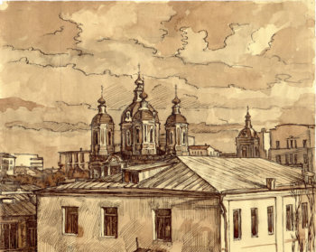 Климентовский храм в Замоскворечье. 1984 г.