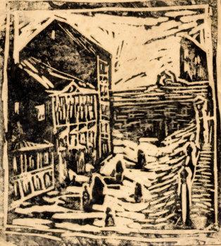 Московский полдень. 1965 г.