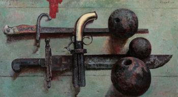 Натюрморт с ядрами. 2010 г.